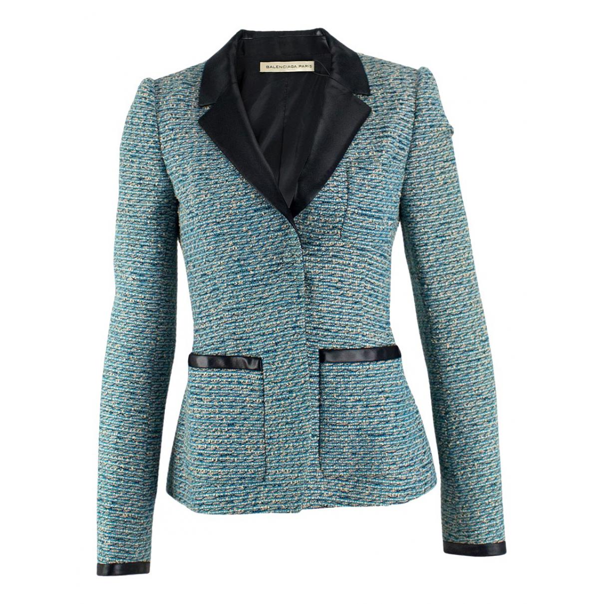 Balenciaga - Veste   pour femme - bleu