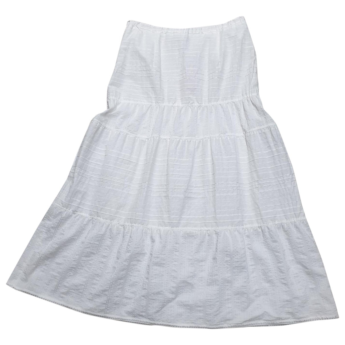Elena Miro - Jupe   pour femme en coton - blanc