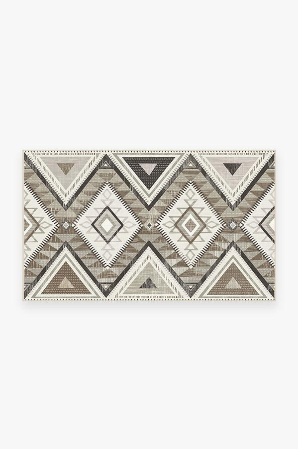 Washable Rug Cover | Santa Fe Natural Rug | Stain-Resistant | Ruggable | 3'x5'