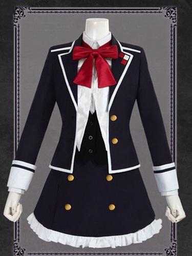 Milanoo Diabolik Lovers Komori Yui Uniform Cloth Halloween cosplay costume  Halloween