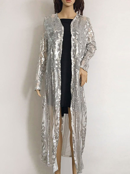 Milanoo Flapper Dresses 1920s Great Gatsby Costume Kimono Sequins Retro Costume