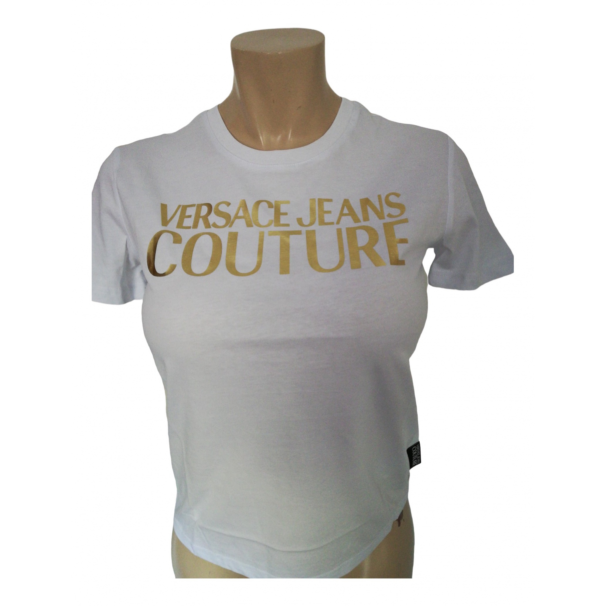 Versace Jeans \N White Cotton  top for Women 12 UK