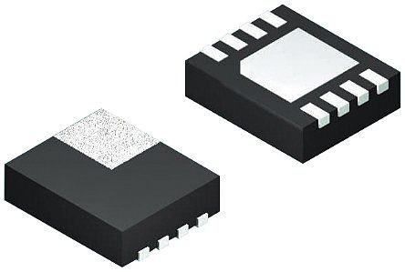 Texas Instruments TPS22965DSGT, 1-Channel Intelligent Power Switch, Load Switch, 6A, 0.8 → 5.5V 8-Pin, WSON (10)