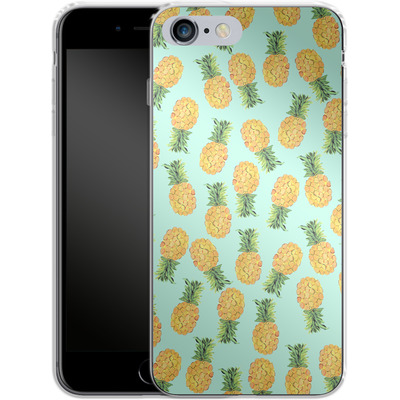Apple iPhone 6s Plus Silikon Handyhuelle - Pineapple von Amy Sia