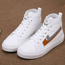 Lace-up Front High Top Sneakers