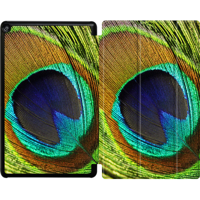Amazon Fire HD 10 (2018) Tablet Smart Case - Peacock von Mark Ashkenazi