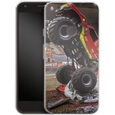 Google Pixel XL Silikon Handyhuelle - Snake Bite 2 von Bigfoot 4x4