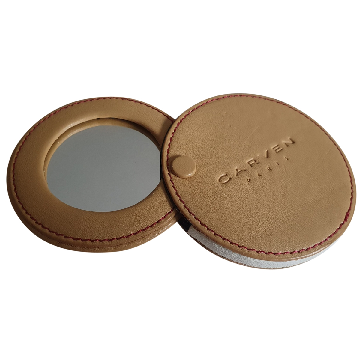 Carven - Objets & Deco   pour lifestyle en cuir - beige