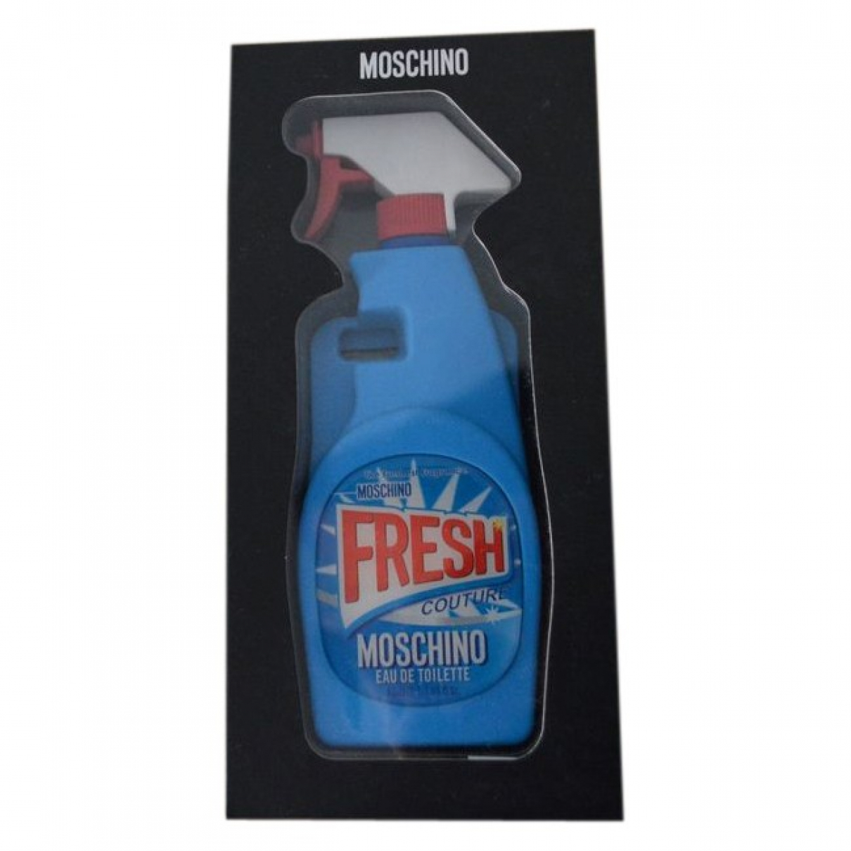 Moschino - Bijoux de portable   pour femme en toile - bleu