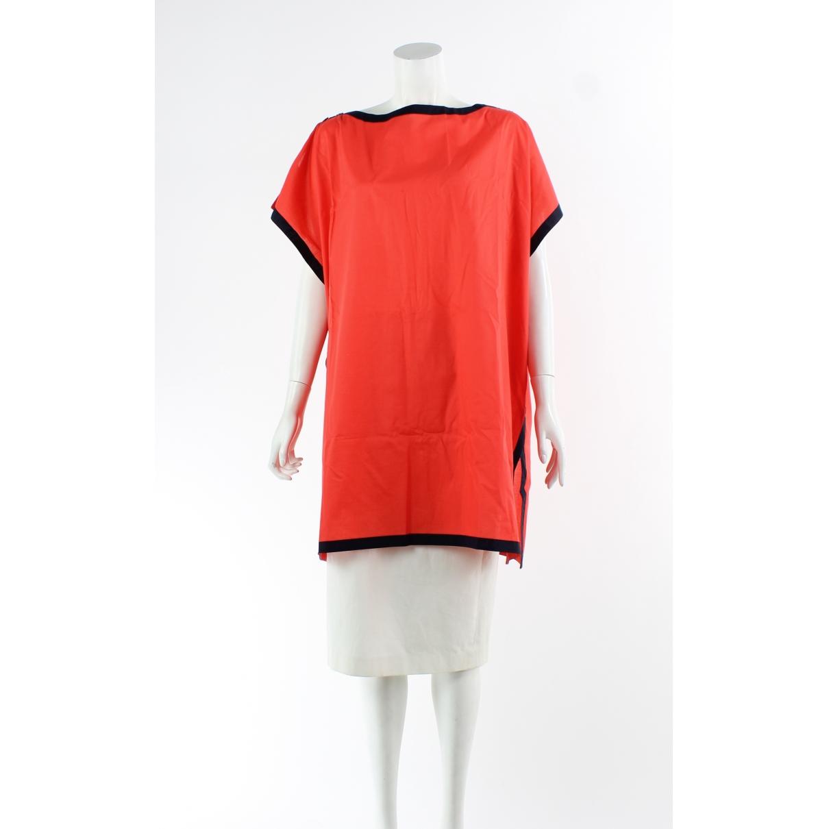 Hermes \N Top in  Rot Baumwolle