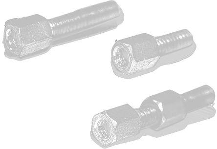 Wurth Elektronik Hexagonal Lock Screw UNC 4/40 x 11.0mm, (8000)
