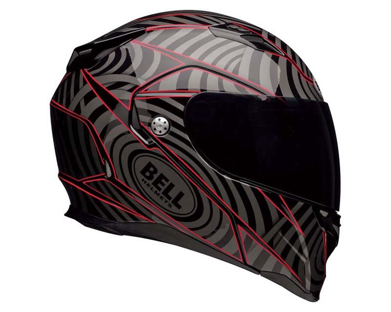 Bell Racing 7000624 Revolver Evo Warp Red Helmet 55-56 | SM