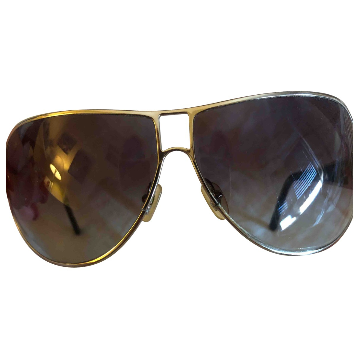 Vogue \N Silver Metal Sunglasses for Women \N