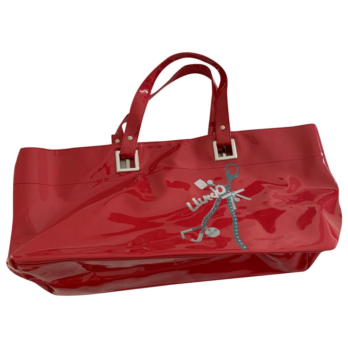 Liu.jo N Purple Patent leather handbag for Women N