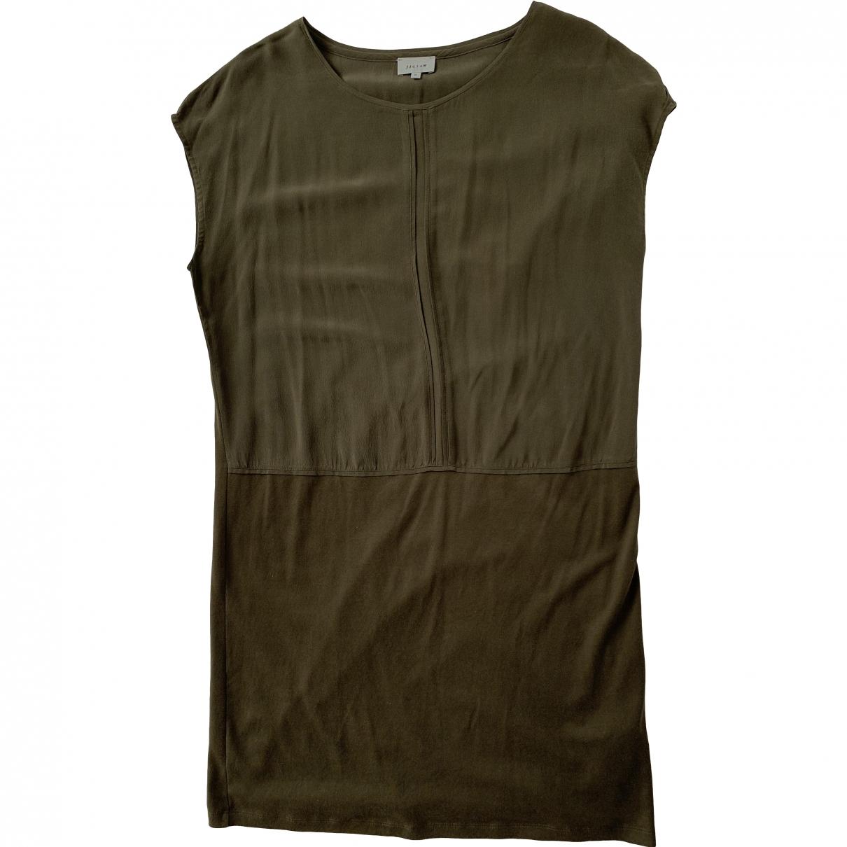 Jigsaw \N Khaki Silk dress for Women M International