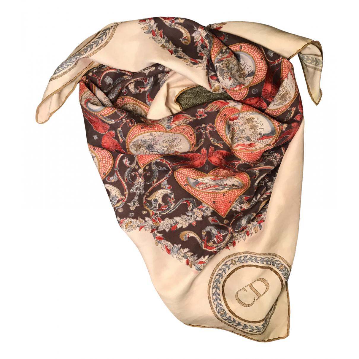 Dior \N Multicolour Silk Silk handkerchief for Women \N