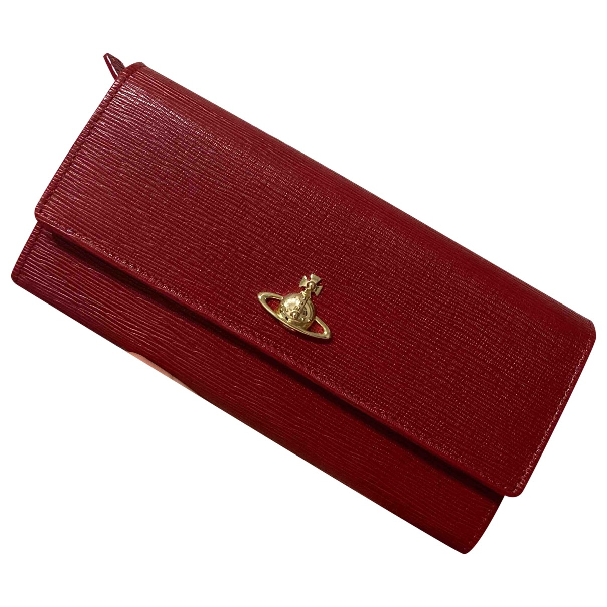 Vivienne Westwood \N Red Leather wallet for Women \N