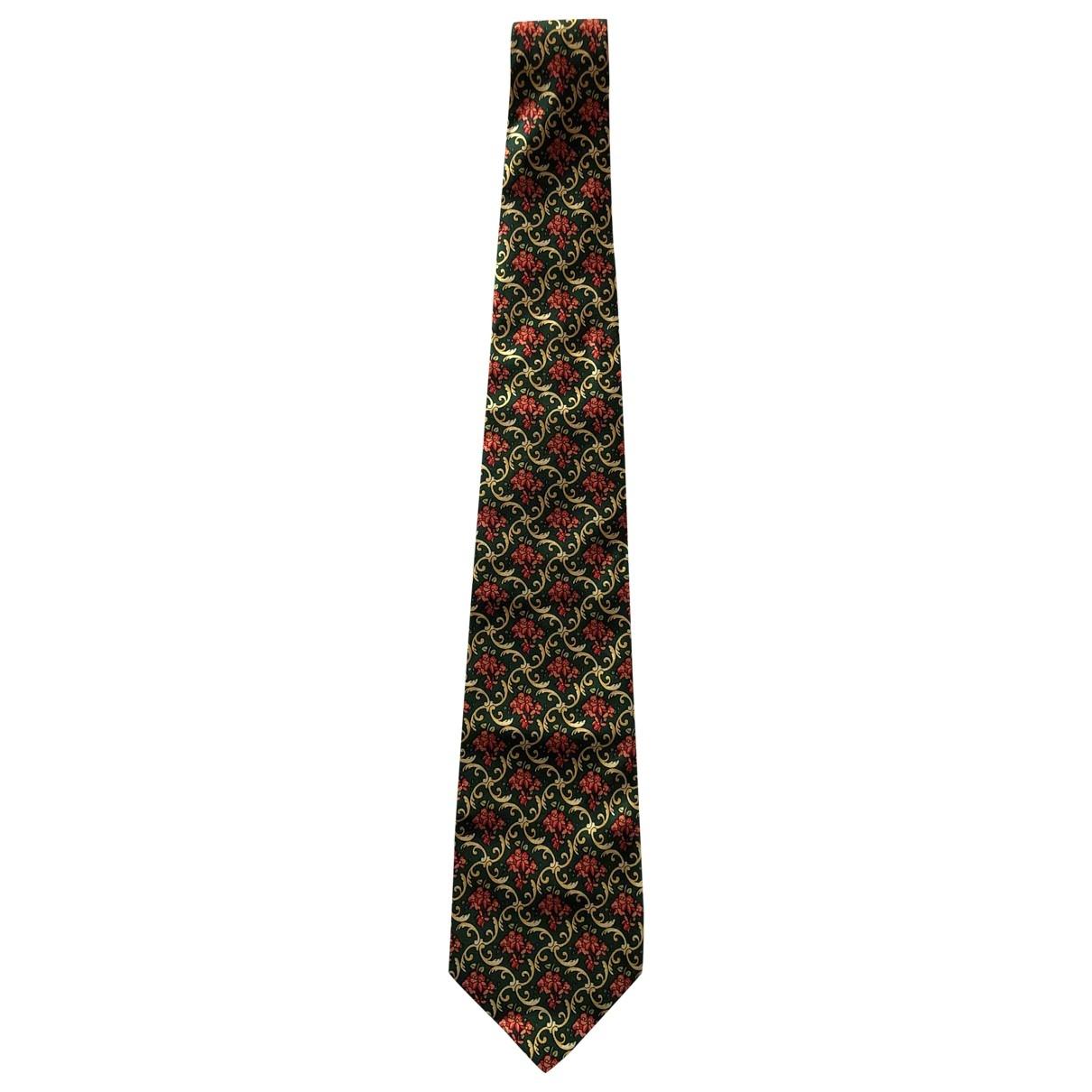Fendi - Cravates   pour homme en soie - vert