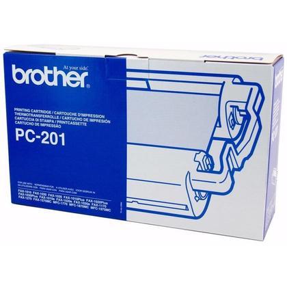 Brother PC201 Rubban De Tranfer Thermique Fax Original Noir