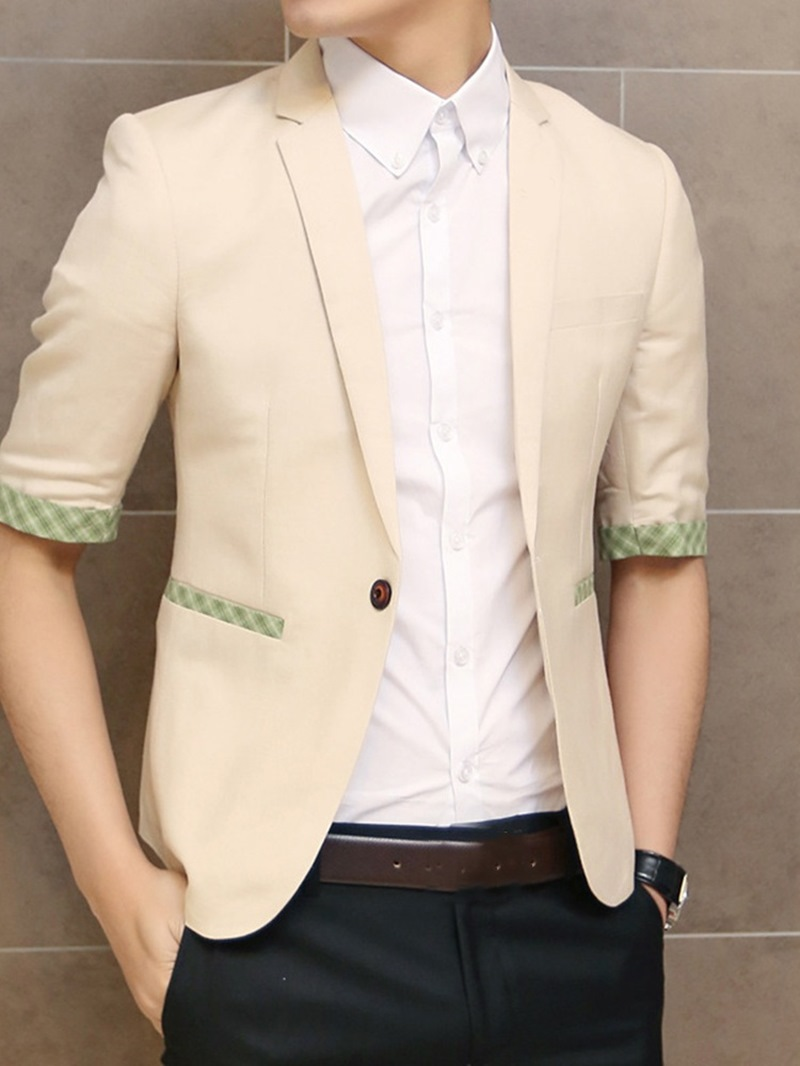 Ericdress One Button Slim Casual leisure Suit