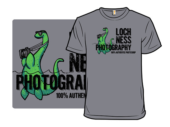Loch Ness Photography T Shirt