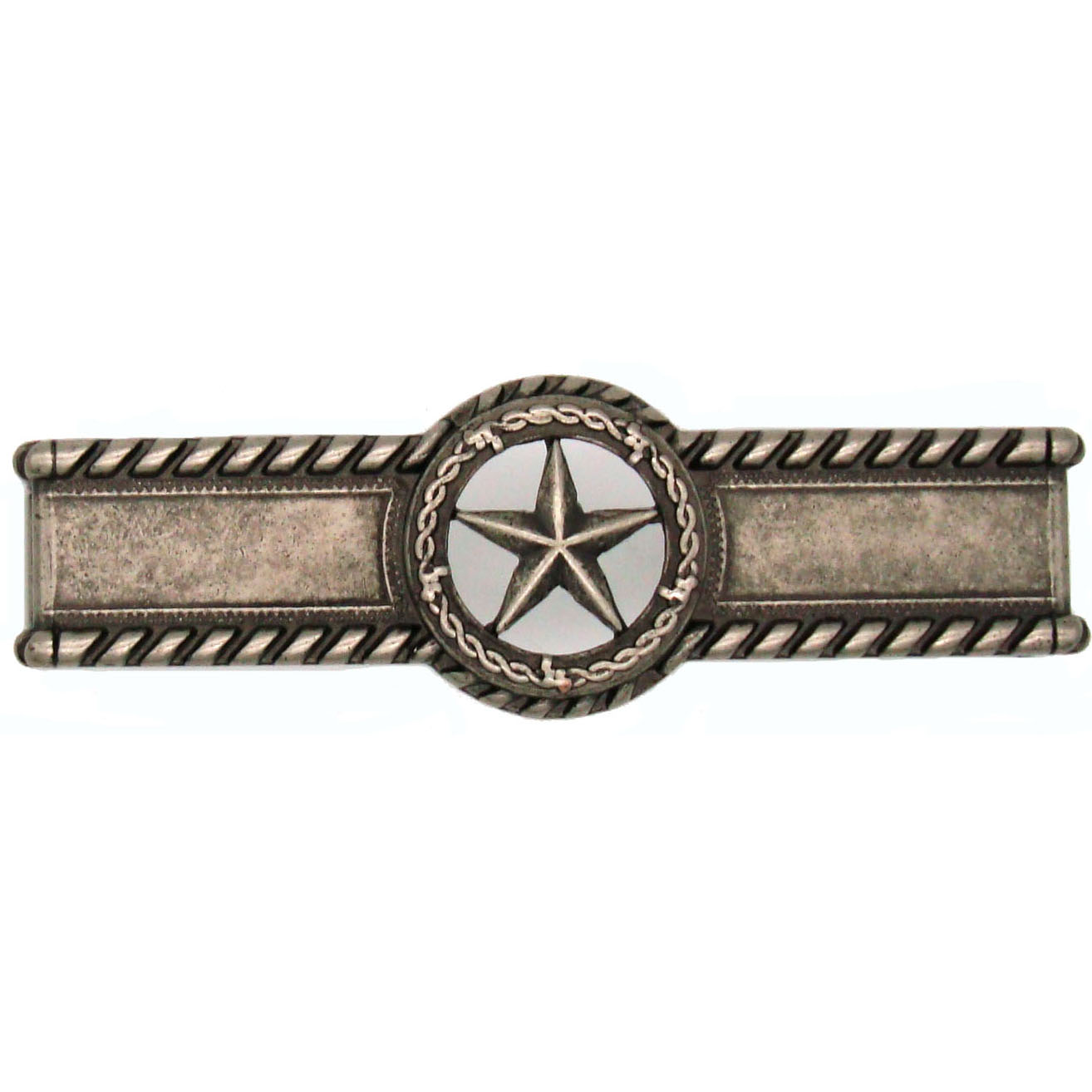 Star with Barbed Wire Pull, Nickel Oxide