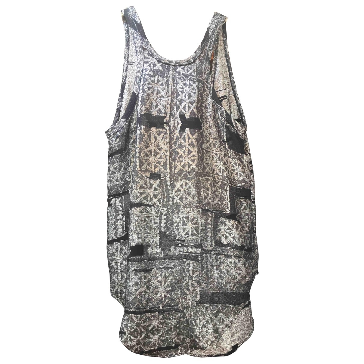 Isabel Marant \N Top in  Metallic Seide