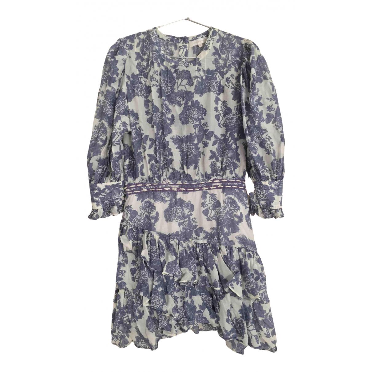 Love Shack Fancy - Robe   pour femme en soie - multicolore