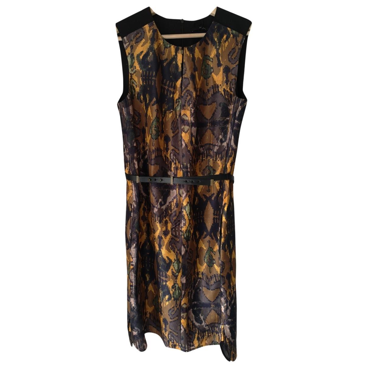 Hugo Boss - Robe   pour femme en soie - multicolore