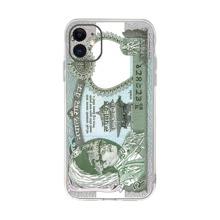 Funda de iphone con estampado de dinero