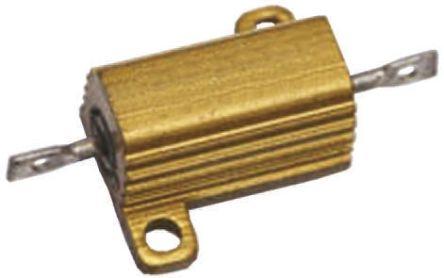 Vishay RH005 Series Aluminium Housed Axial Wire Wound Panel Mount Resistor, 10kΩ ±1% 7.5W