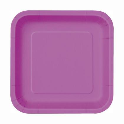 Party Paper Square Dessert Plate 7