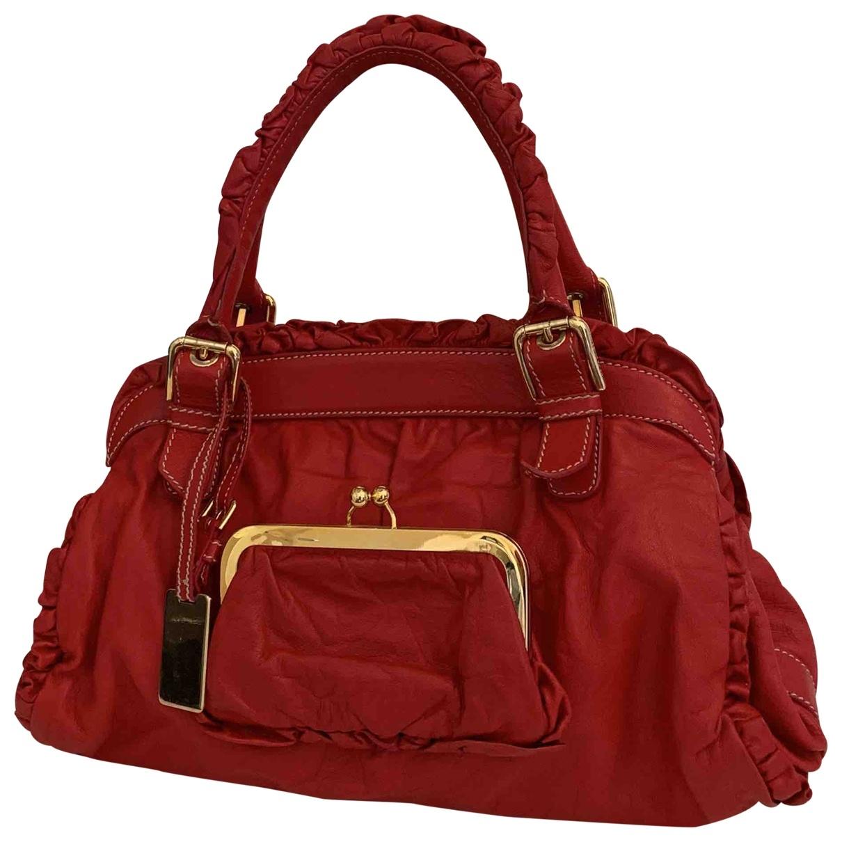 Dolce & Gabbana \N Red Leather handbag for Women \N