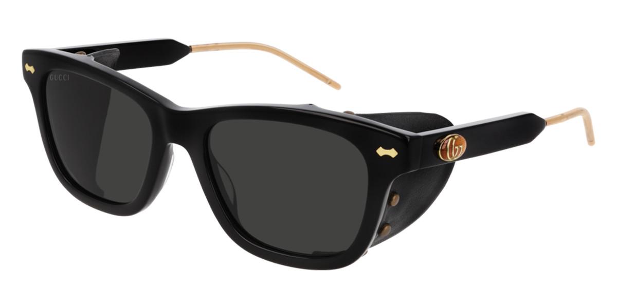 Gucci GG0671S 001 Men's Sunglasses Black Size 54 - Free RX Lenses