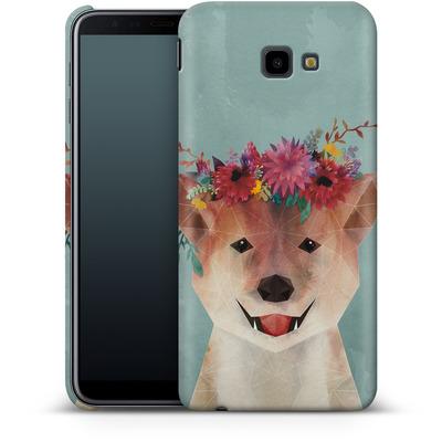 Samsung Galaxy J4 Plus Smartphone Huelle - Crown von Little Clyde