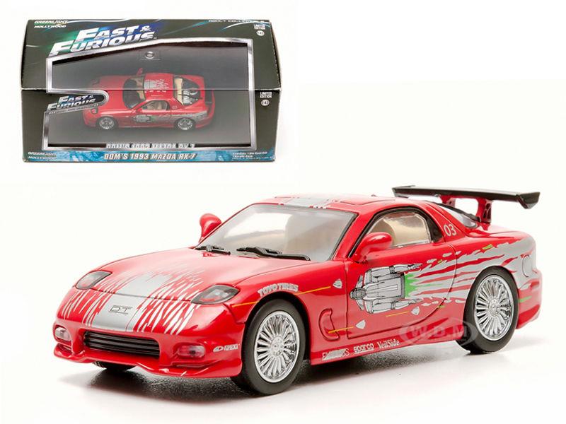 Doms 1993 Mazda RX-7 Red