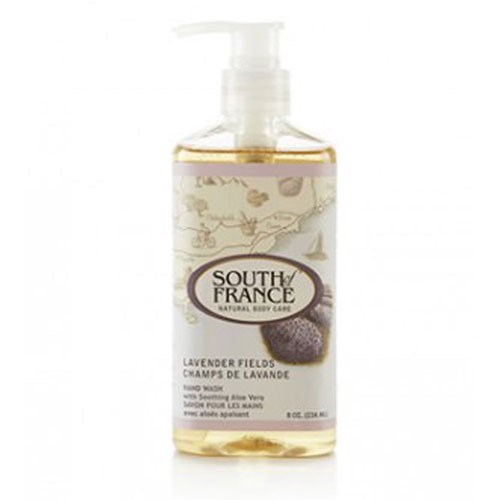 Hand Wash Lavender Fields 8 fl oz by South Of France Soaps