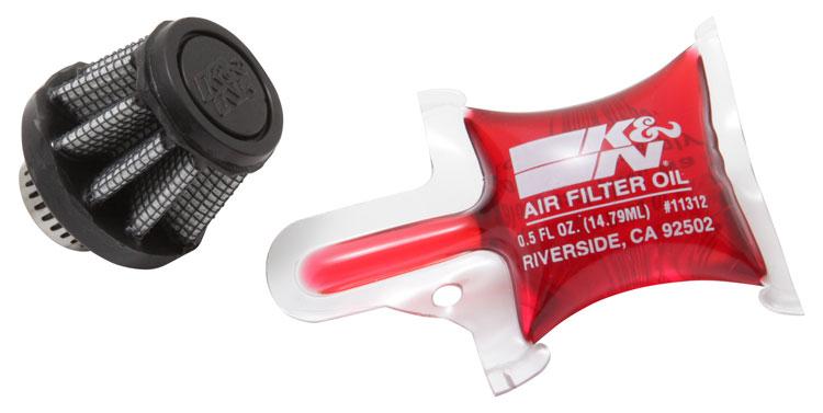 K&N RU-3490 Universal Clamp-On Air Filter