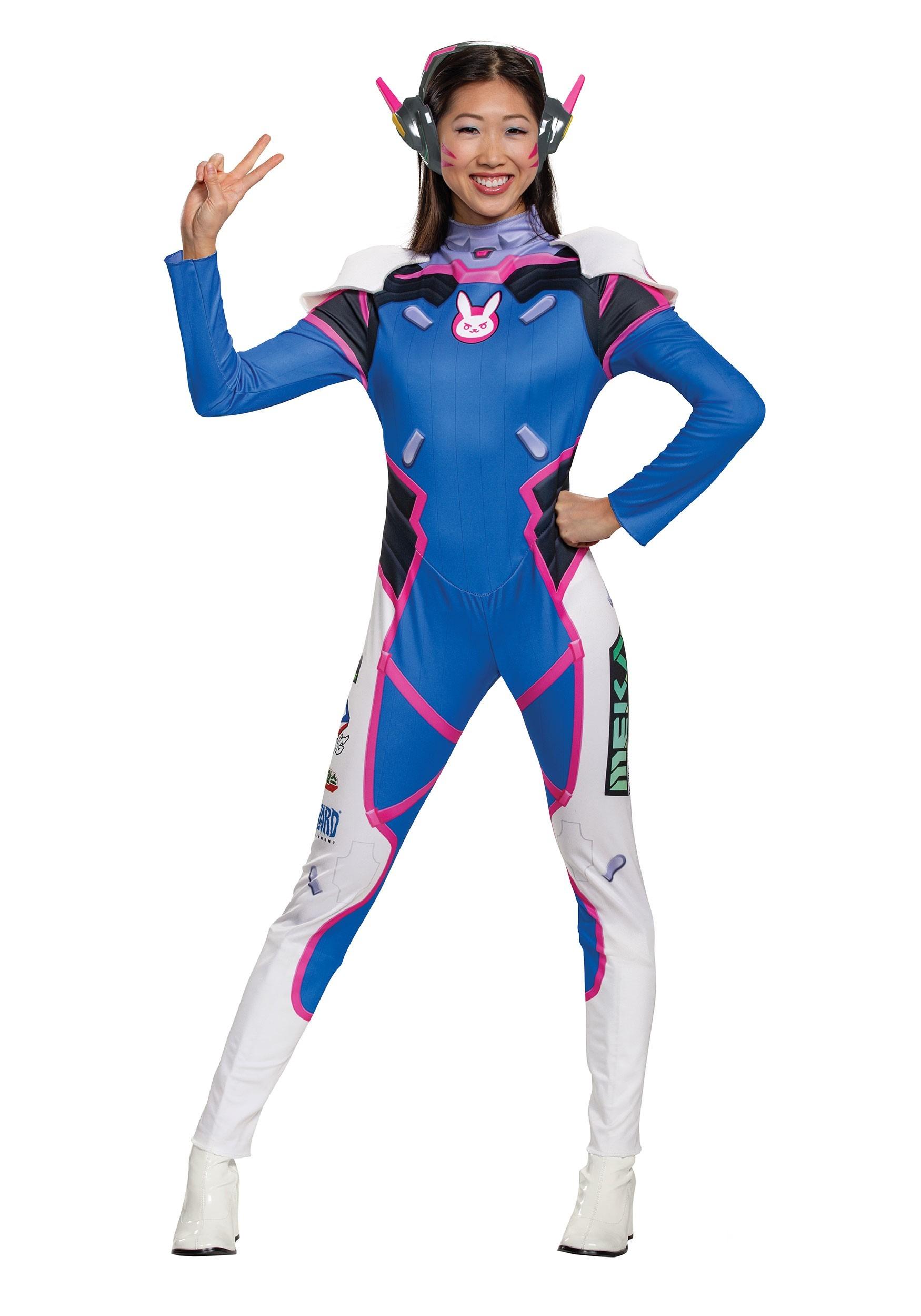 Womens Overwatch D.Va Deluxe Costume