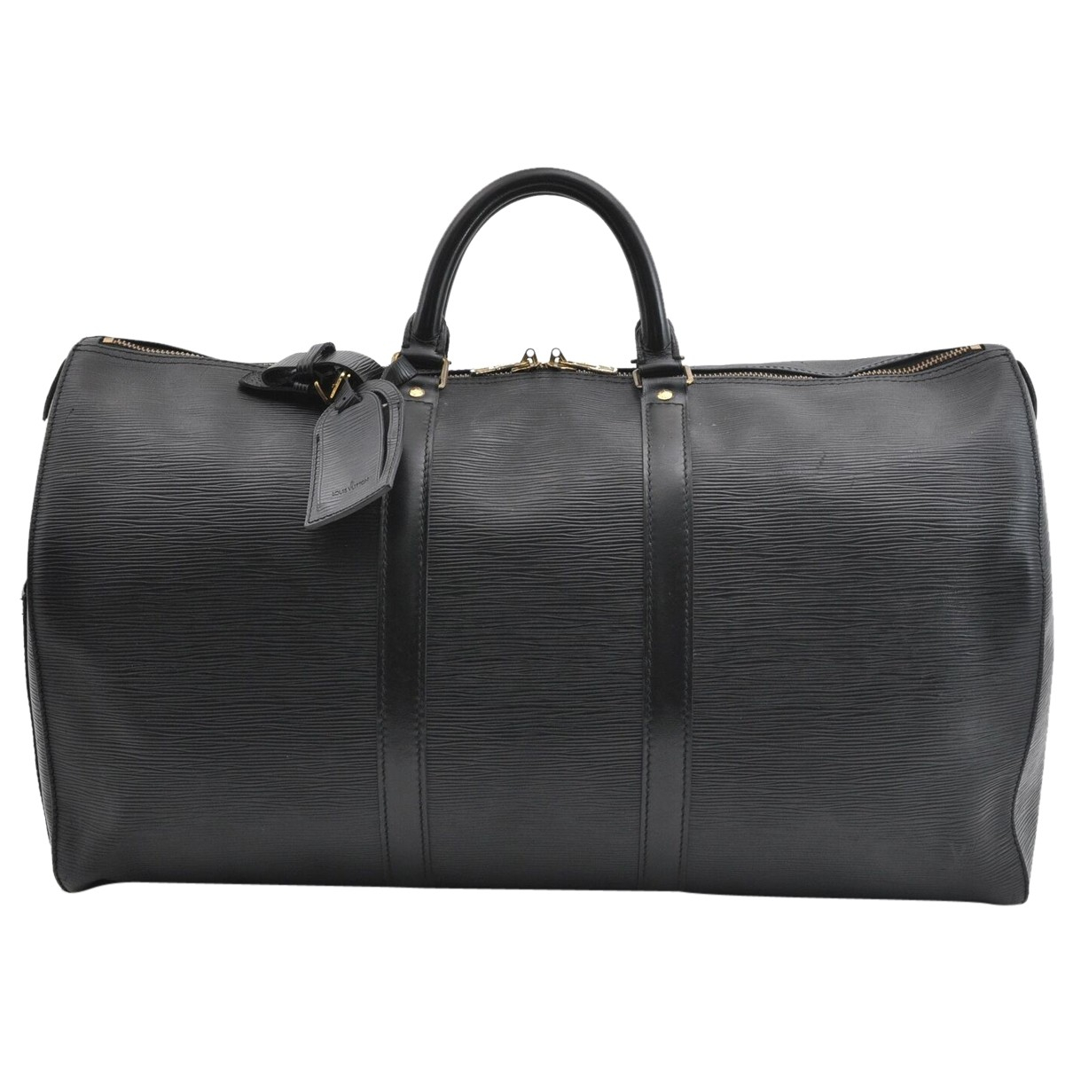 Louis Vuitton N Black Leather Travel bag for Women N