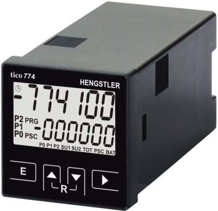 Hengstler TICO 774, 6 Digit, LCD, Digital Counter, 60kHz, 100 → 240 V ac