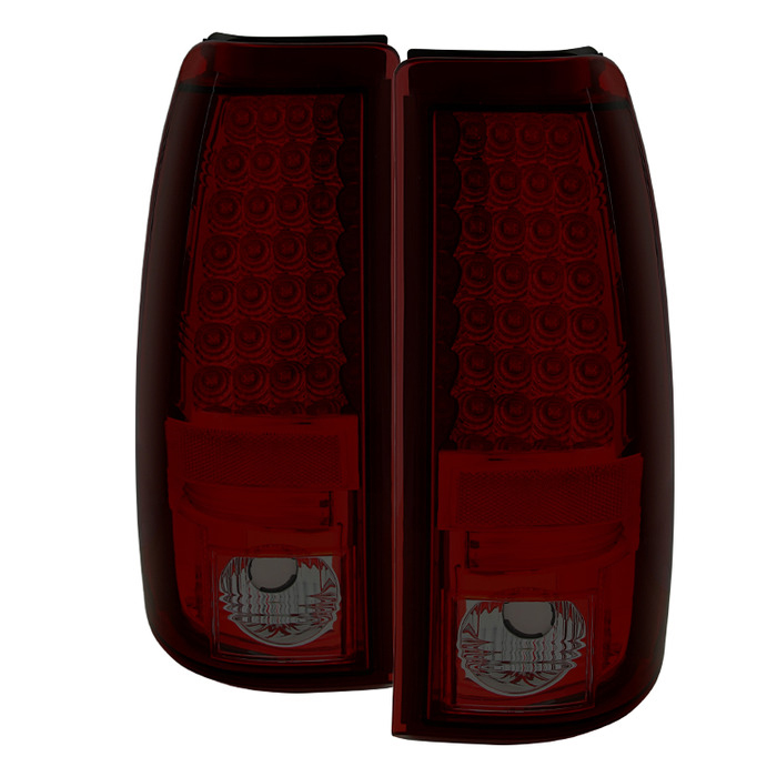 Spyder Auto ALT-YD-CS03-LED-RS Red Smoke LED Taillights Chevrolet Silverado 2500 Non-Stepside 03-06