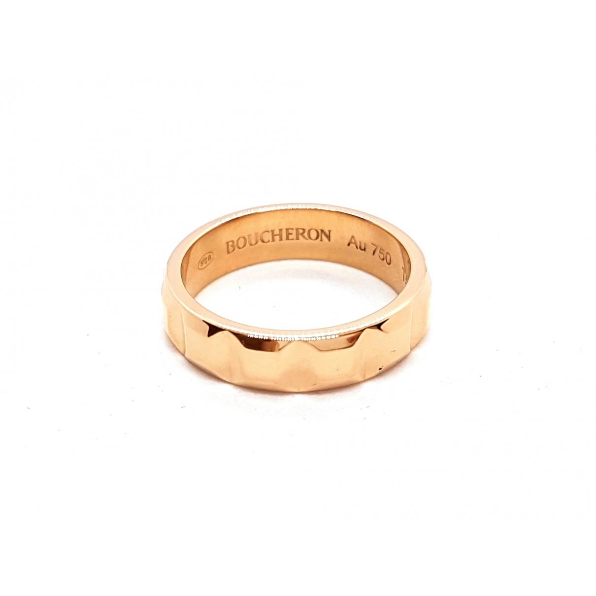 Boucheron - Bague Quatre pour femme en or rose - dore