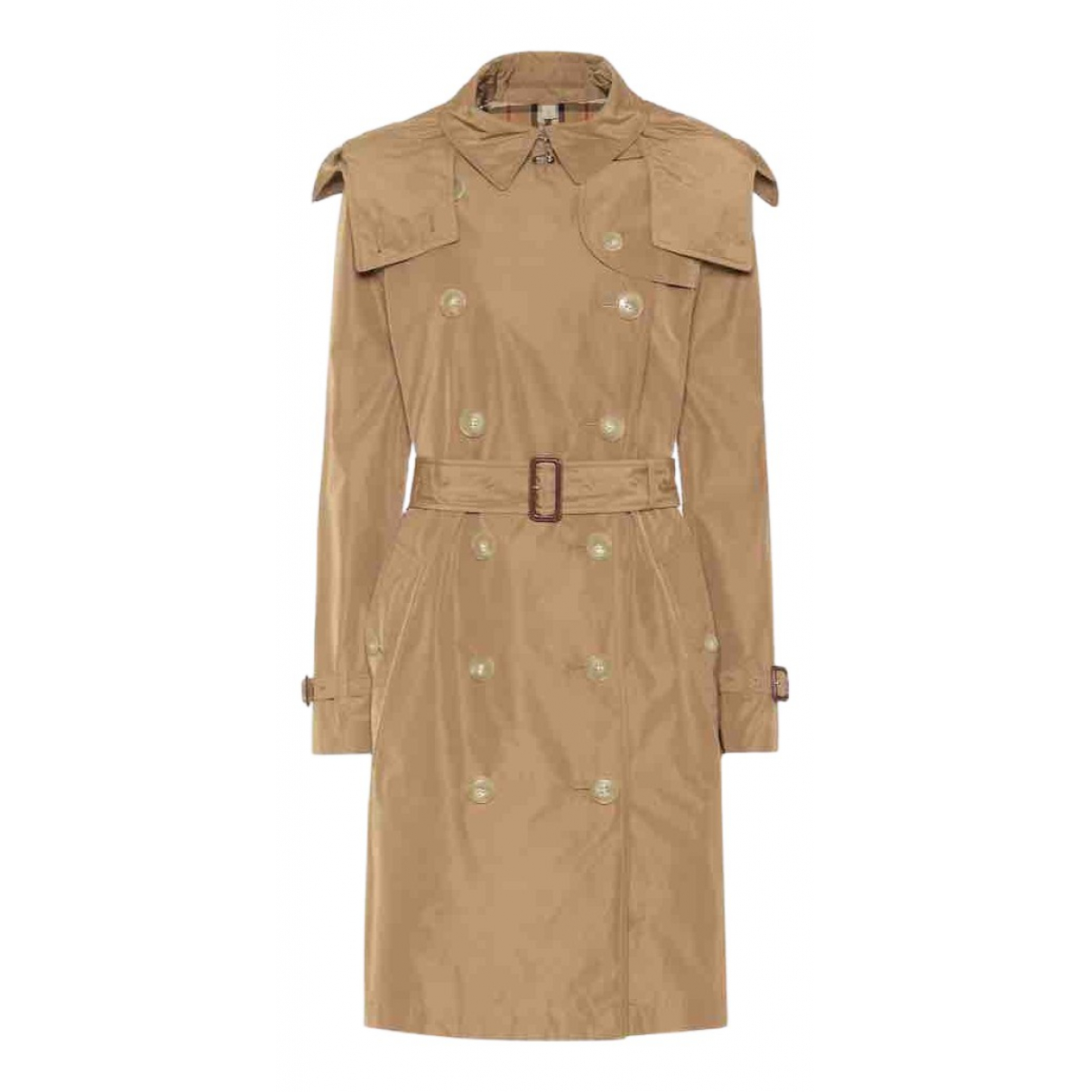 Burberry \N Trench in  Kamel Polyester