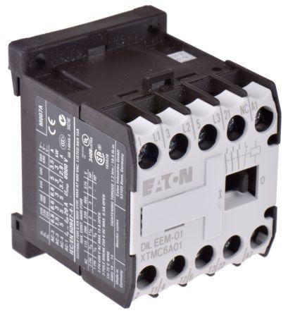 Eaton 3 Pole Contactor - 9 A, 230 V ac Coil, xStart, 3NO, 3 kW