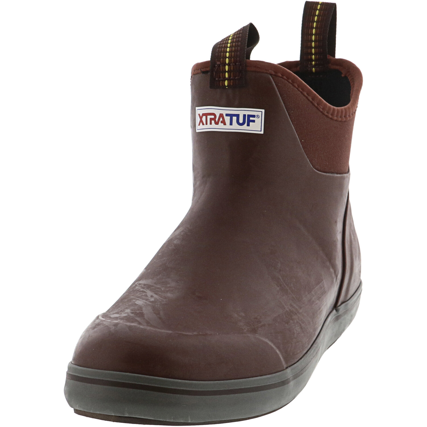 Xtratuf Men's Ankle Deck Boot Maroon Ankle-High Rubber - 12M