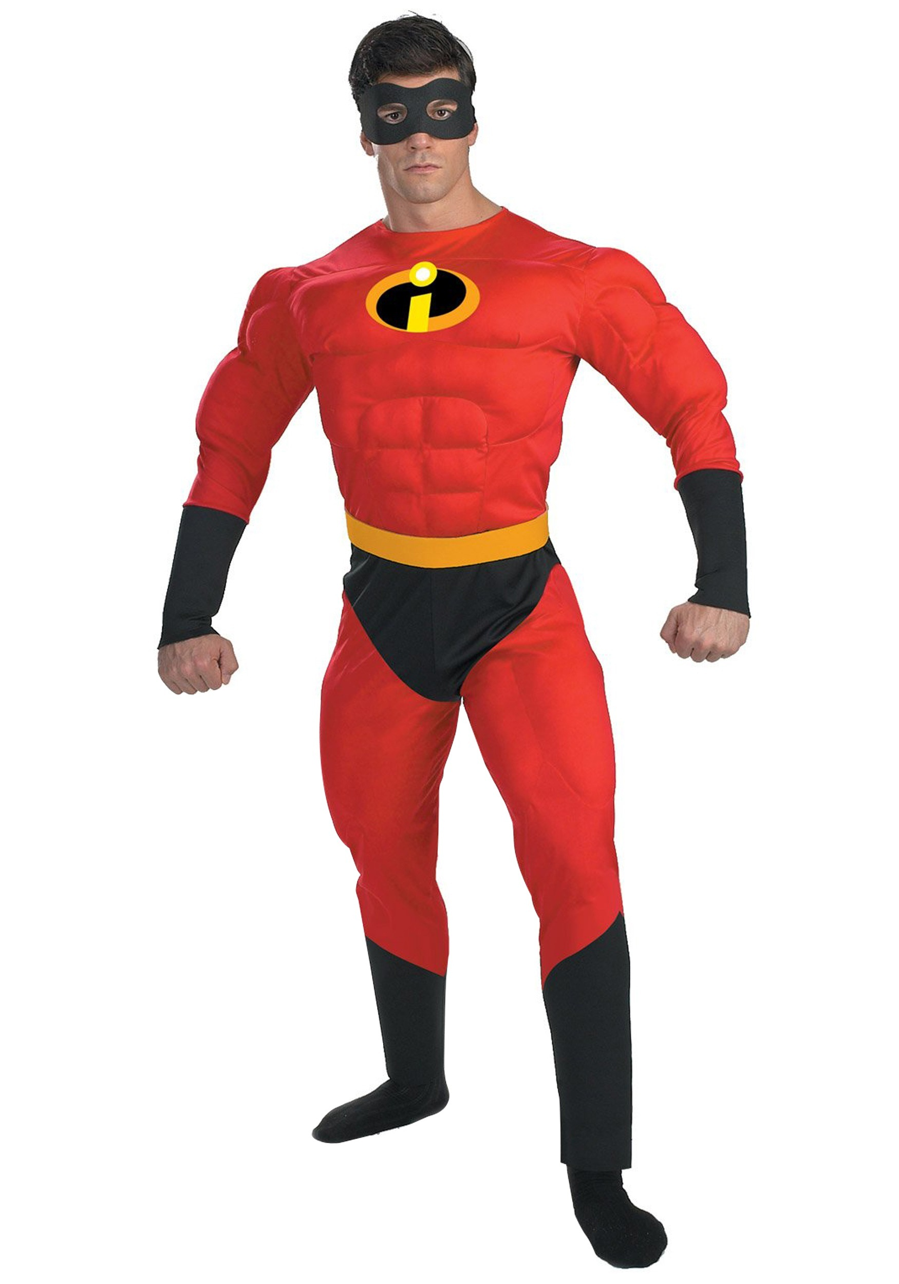 Mr. Incredible Deluxe Muscle Plus Size Costume 2X