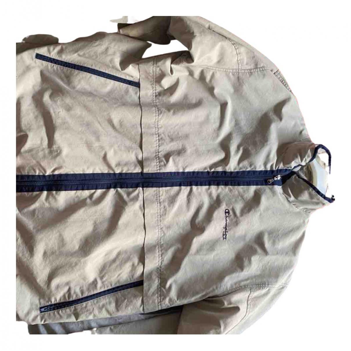 Champion - Vestes.Blousons   pour homme en coton - beige