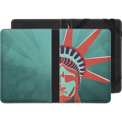 Amazon Kindle Paperwhite 3G eBook Reader Huelle - Statue Of Liberty von Mark Ashkenazi