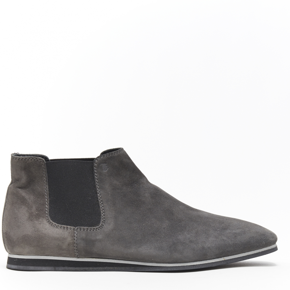 Tod's \N Grey Suede Ankle boots for Women 37 EU